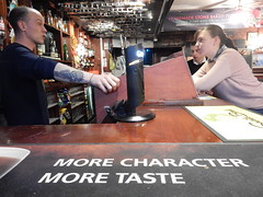 P and T... more character, more taste! (deltrems) Tags: pub bar inn tavern hotel hostelry house restaurant pumpandtruncheon pump truncheon blackpool lancashire fylde coast barman more character taste