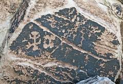 Petroglyphs / Petrified Forest Naional Park (Ron Wolf) Tags: anthropology archaeology nationalpark nativeamerican petrifiedforestnationalpark anthromorph anthropomorph petroglyph rockart zigzagline arizona
