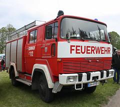 Magirus-Deutz fire truck (Schwanzus_Longus) Tags: bruchhausen vilsen german germany old classic vintage truck vehicle lorry fire department brigade engine feuerwehr magirus deutz 170 d11