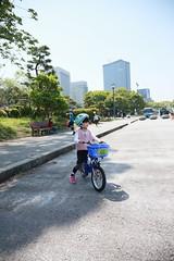 2017-04-30-10h23m56 (LittleBunny Chiu) Tags: 皇居外苑 腳踏車 騎腳踏車 日本 東京 日本旅行 去日本旅行 東京台場 台場 人工沙灘 御台場海濱公園