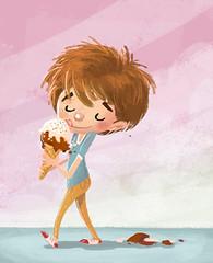 niño con helado (wallmistwallpaper) Tags: alimentación comiendo cucurucho frío heladería helado infantil niño niños sabor verano