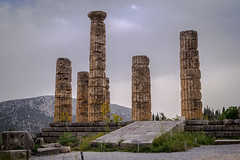 Delphi (t_aris) Tags: delphi ancient temple apollo hdrphoto hdr greece history architecture sonyalpha sony a5000 alpha sigma sigmalens 30mm outdoor emount mirrorless