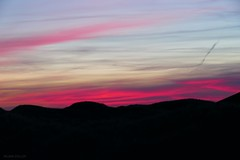Sonnenuntergang in Nordjütland
