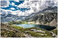 Vado in montagna più per la paura di non vivere che per quella di morire. (Ada Gobetti) #montagna #colledelnivolet #nuvole #cielo #sky #mountain #lake #nivolet #life #vita #photography #canon4DmarkII #doyoubelieveinamiracle #parcodelgranparadiso  Ph: Marc (marcodalsasso1) Tags: canon4dmarkii colledelnivolet nuvole photography sky lake life cielo montagna doyoubelieveinamiracle vita mountain parcodelgranparadiso nivolet