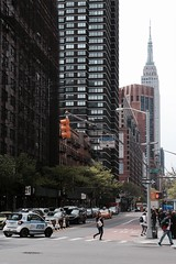 view from First Avenue, Manhattan (Towner Images) Tags: us usa manhattan ny nyc towner townerimages newyork bigapple america building architecture street streetscape urban city cityscape nypd east34thstreet empirestatebuilding firstavenue crosswalk