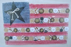 americana (muffett68 ☺☺) Tags: flag country gingham buttons