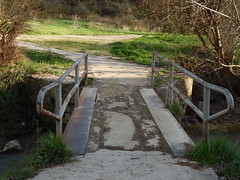 Bridge-following to see where it leads (amgirl) Tags: spain 2017 navarra puentalareina march31 day2 evening