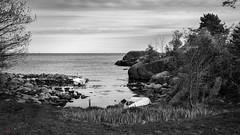 (Øyvind Bjerkholt (Thanks for 58 million+ views)) Tags: blackwhite bw nature boats sea ocean water coast sky ranviga fevik norway hdr canon beautiful