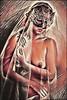 Persephone, Goddess of the Underworld (Alexander C. Kafka) Tags: mythology greekmythology persephone underworld woman figure nude portrait mask creature beast death lifeafterdeath