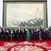 Palazzo dell'Assemblea Nazionale del Popolo, foto di famiglia con i Leader e Consorti