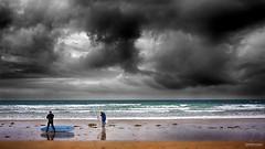 Surf à Kerhillio - #05 (DENISDROUAULT) Tags: borderfx breizh bretagne brittany canon5dmiii ciel denisdrouault eascape france french hdr jimages kitesurf mer morbihan nature ocean paysages rocher rock sea sky sunset wildcoast