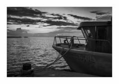 IMG_7726 (Carlos M.C.) Tags: holbox mañana madrugada despertar blanco negro color barco bote lancha ferry camarote rojo azul salvavidas amarre cuerda botes