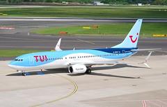 D-ASUN B737 8BK TUI FLY (corrydave) Tags: dasun b737 b737800 tui tuifly 33023 dusseldorf