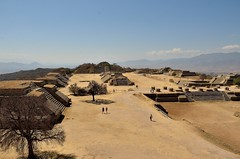 The ruins of Monte Alban, a historic Zapotec settlement [Oaxaca / Mexico] (babakotoeu) Tags: mexico travel reizen holiday monte alban ruins zapotec oaxaca