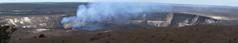 Halema'uma'u Crater- Panorama - 6730-6742 (AZDew) Tags: crater hawaii hawaiivolcanoesnationalparkhi lavaflow volcano photomerge photoshop multipleimages stitched blendedimages handheald panorama activevolcano crator volcaniccrater halemaumaucrater hawaiiisland