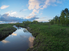 May river (Alexey_Summer) Tags: olympus mirrorless micro43 spring nature naturelovers naturephotograph samyang river sky