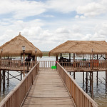 Rest Area, Prey  Pras Lake, Cambodia thumbnail