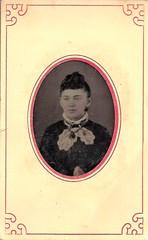 1860's Girl  - Tintype (ilgunmkr - Thanks for 6,000,000+ Views) Tags: tintype ferrotype 1860s civilwarera victorian victorianlady younglady pretty