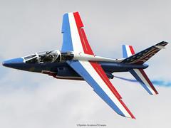 La Patrouille De France (French-Air Force). (Jacques PANAS) Tags: la patrouille de france frenchair force dassaultbreguet dornier alpha jet e code6 registratione45 msne45 code1 registration e68 msne68 code7 e48 msne48 e162 msne162 e135 msn e95 msne95 e139 msne139