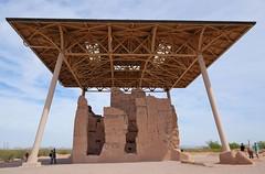 Casa Grande Indian Ruins National Monument (JCD Images) Tags: casagranderuinsnationalmonument coolidge arizona usa greathouse hohokam saguaro desert southwest archaeology fujifilm xt1 xf23mm