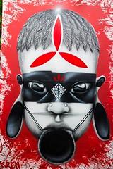 17990754_960699860734106_7657259390550253075_n (BENET - BNT) Tags: bh tattoo festival benet bnt kren graffiti rosto indígena pindorama brasil live paint guerreiro ancestral