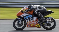 Keeping his head down. (cconnor124) Tags: motorsport motorbikes motorbikeracing oultonpark speed panning panningshots canon100400lens canon7dmk11