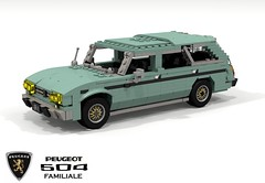 Peugeot 504 Familiale (lego911) Tags: peugeot 504 wagon estate familiale 1970 1970s classic psa france french auto car moc model miniland lego lego911 ldd render cad povray lugnuts challenge 115 thefrenchconnection connection family foitsop