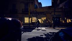 Lights in the Shadows (elgunto) Tags: bike street streetphotography colors poblenou barcelona highcontrast silhouette shadows light sonya7 manuallense nikon2035 nikkor ai