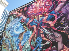 graffiti mural, San Francisco (duncan) Tags: graffitimural sanfrancisco graffiti mural