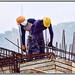 Teamwork... (Mike Goldberg) Tags: construction workers framework infrastructure building nikond5300 mikegoldberg galilee