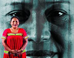 Maria Acosta, Ngable Bugle People (FAO of the UN) Tags: indigenouspeoples indigenouswomen ruralwomen indigenousfoodsystems traditionalknowledge exhibition