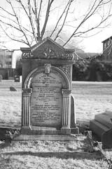 The family grave of Robert Garrould (IanAWood) Tags: lbofbrent london londoncemeteries nikkorafs58mmf14g nikondf walkingwithmynikon willesden willesdenburialground willesdenoldcemetery