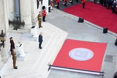 "New Memorial honouring the 64 Freemasons awarded the Victoria Cross during WW1 unveiled by HRH The Duke of Kent at FreemasonsÔÇÖ Hall (18) - Photo credit Chris Allerton - UGLE • <a style=""font-size:0.8em;"" href=""http://www.flickr.com/photos/60049943@N02/34262842846/"" target=""_blank"">View on Flickr</a>"