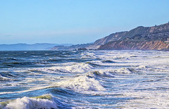 Toward Lands End with Waves (BlueVoter - thanks for 1.6M views) Tags: pacifica pacificocean waves landsend cliff