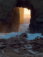 Pfeiffer Beach 2.jpg (leshapiro) Tags: bigsur pfeifferbeach beach sunset rocks waves