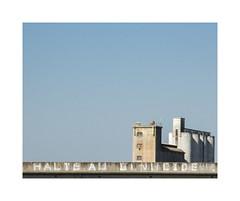 Halte au génocide (hélène chantemerle) Tags: bâtimentsindustriels ciel extérieur france paysages ruraux soleil tag bleu blanc industrialbuilding rural landscape sky sun light blue white