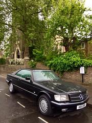 H65ERO - Mercedes 420 SEC Auto (Sim's pics) Tags: mercedes mercedesbenz 420 sec coupé auto black alloywheels hackney dalston london stpeterdebeauvoir