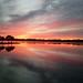 China Lake Sunset - D. Worster