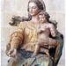 Virgin and Child, refectory, Monastery of Alcobaca,