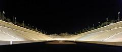 Panathenaic Stadium at night, Athens, Greece (George Fournaris) Tags: panathenaicstadium stadium athens greece