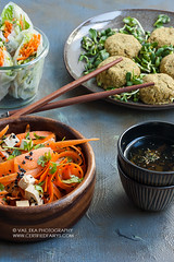 Carrot and tofu salad, felafel, springrolls (vas_eka) Tags: asia chinese mediterranean bio bowl carrot chef chinesefood chopsticks cleaneating cooked cooking cuisine culinary cup darkphoto delicious detox diet dinner falafel fitness food foodphoto foodstyling foodie fresh gourmet green grey hautecuisine healthy herbs homemade israelcuisin kitchen lunch meal menu natural nutrition orange rawvegan restaurant salad seasonal snack spice springrolls sprouts starter stilllife stylish superfood tableware tasty tea teaceremony tofu traditional vegan vegetables vegetarian wellness wooden