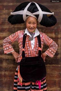 Long Horn Woman