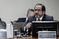 39ª Sessão Extraordinária (Conselho Nacional de Justiça - CNJ) Tags: 39ª sessão extraordinária conselheiro luiz cláudio allemand