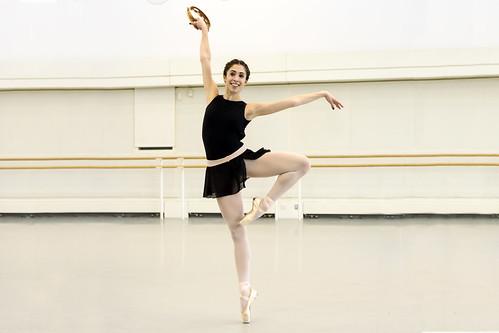 'One huge grin': dancing George Balanchine's showpiece ballet <em>Tarantella</em>