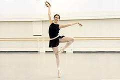 'One huge grin': dancing George Balanchine's showpiece ballet <em>Tarantella</em>