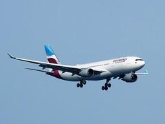 D-AXGA AIRBUS A330 203 (douglasbuick) Tags: aircraft airbus a330203 daxga eurowings jet plane landing german germany pmi palma airport aviation flickr spain majorca airliner airlines airways panasonic dmcfz50