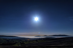 Full Moon in Libra (Edward Wolohan) Tags: moon fullmoon libra fullflowermoon wicklow wicklowmountains ireland astronomy astrophotography nightsky universe galaxy mountains sky valley clouds fog mist