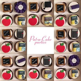 Teachers' cupcakes