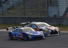 #61 SUBARU BRZ R&D SPORT vs #51 JMS P.MU LMcorsa RC F GT3 (2017 SUPER GT Rd-1 Okayama) (Tatsuya Endo) Tags: supergt subaru lexus rcf brz car nikon okayama bridgestone dunlop スーパーgt autobacs オートバックス