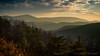 The Priest and Elk Mountain in the Fading Light (Scoutchuck) Tags: usa sunset blueridgeparkway home canon blueridgemountains clouds blueridge virginia circularpolarizer tyeriver elkmountain nd4 smoke montebello thepriest nelsoncounty vesuvius unitedstates us